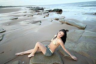 Model by Tyneside Beach