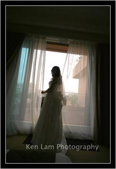 Bride reflecting…