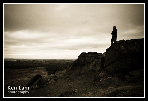 Anil at Bradgate, Leicestershire