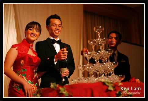 Wedding in Mandarin Hotel Kuala Lumpur - Toasting