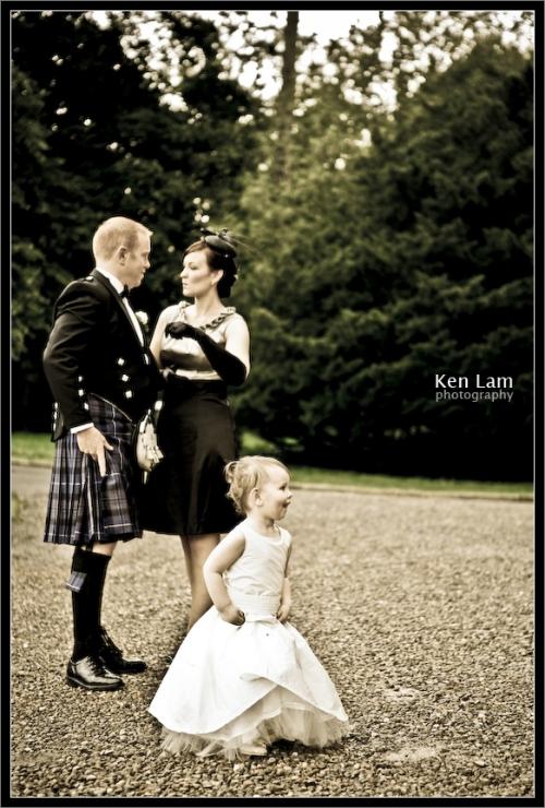 Wedding in Wedderburn Castle